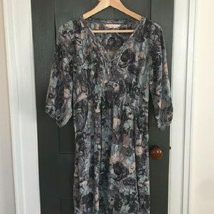 Rebecca Taylor watercolor dress sz 4
